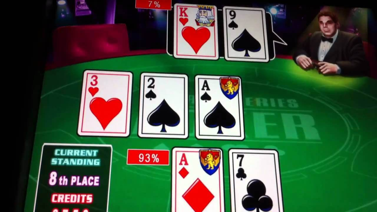 play poker slot machines